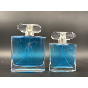 100ml empty clear glass perfume bottle with spray