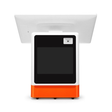 Compact POS with scanner reader and printer
