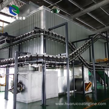 Vertical Safety Stable Metal Heavy Hanger Conveyor Belt with ISO9001
