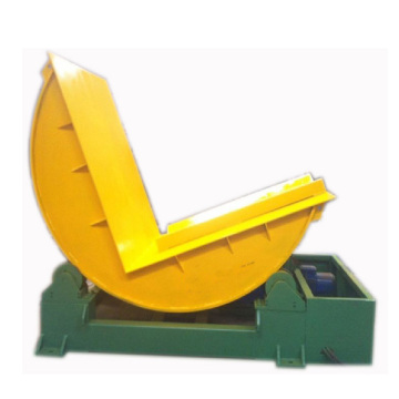Automatic aluminum and steel coil tilter