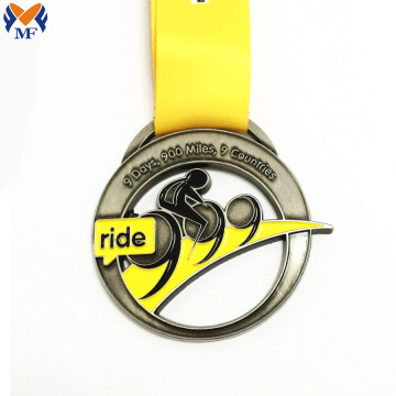 Best quality metal bicycle race medals