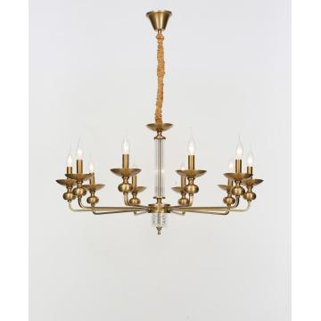 Elegant Indoor Lighting Iron Chandelier American Style