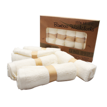Baby Natural 100% Bamboo Soft 6 Washcloths Towel