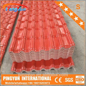 roof sheets price per sheet/pvc plastic roof panel