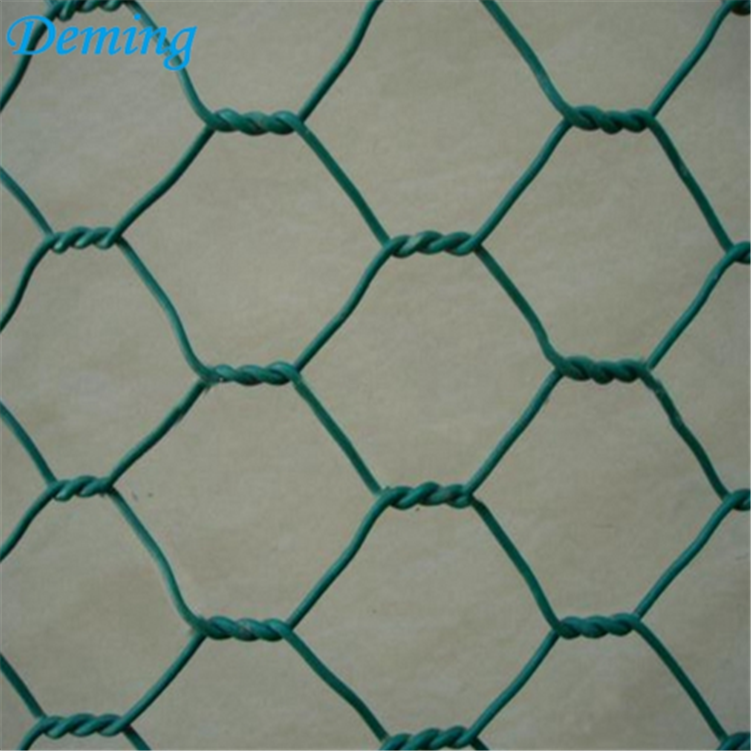 Hot Dipped Galvanized hexagonal chicken wire mesh fence