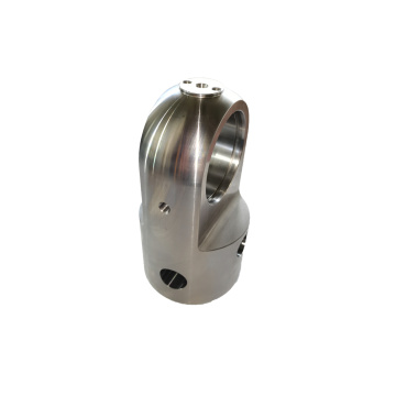 High Cleanness CNC Machined Cylinder Bottom