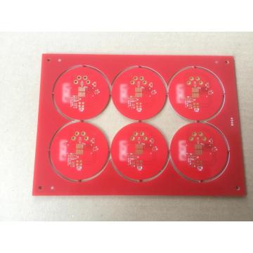 FR4 1,6 mm 2OZ castellations pcb
