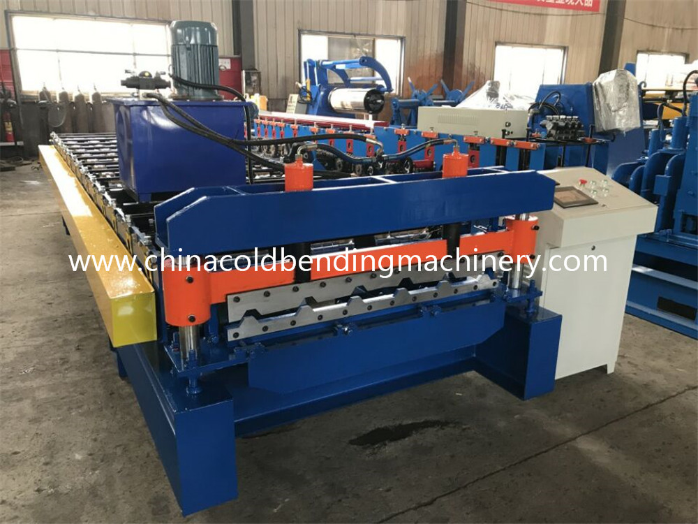 High Quality Metal Roof Tile Making Machine