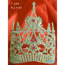 2018 Large High Rhinestone Pageant Crown