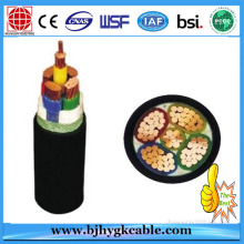 XLPE insulated power cable, 4x300mm2 XLPE Cable, Copper/Aluminum,0.6/1kV