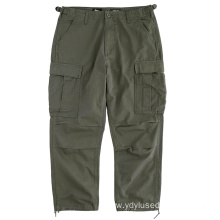 Multi-pocket Trousers Used Clothing