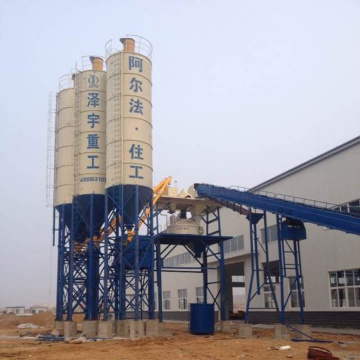 Control system concrete batching plant for building