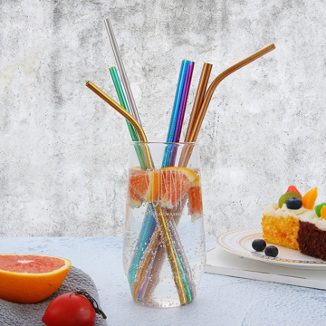 18/8 Simple Stainless Steel Straw Wholesale