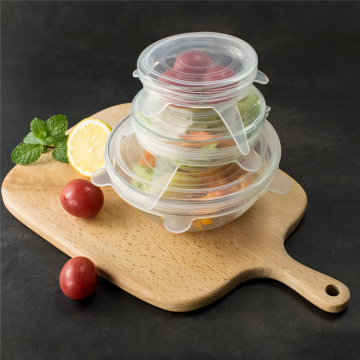 Eco-friendly BPA Free Silicone Stretch Food Lid