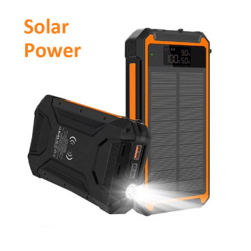 Best Solar Power Bank Solar Powered Phone Charger