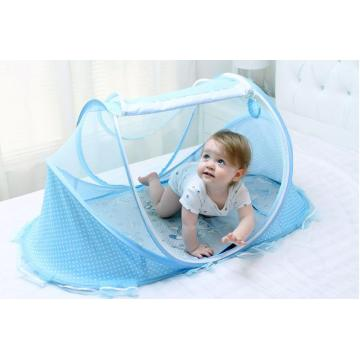 baby cradle mosquitoes bed net with music