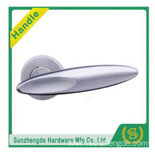 SZD STLH-007 Top Quality Wood Lever Door Handle On Round Rose Stainless Steel