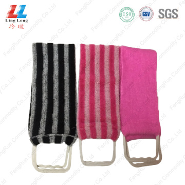 Alluring Stripe bath sponge belt