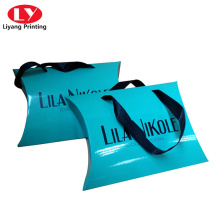 Personalized Multi Colored Paper Pillow Boxes
