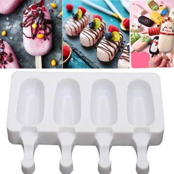 Silicone Ice Pop Molds Homemade Popsicle Maker