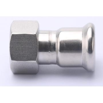 Stainless Steel Press Drinking and Gas Pipe Fitting