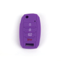 Silicone car key cover for k5 4 buttons