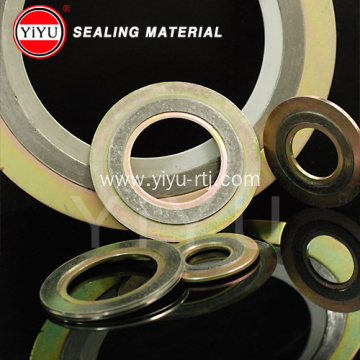 Flange Metal Spiral Wound Gasket with Inner & Outer ring