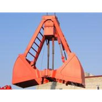 Red Painted Crane Grab