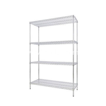 Kitchen Stainless Steel Rack 4 Tiers Wire Shelving
