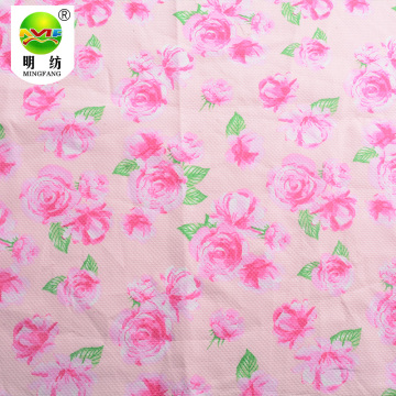 High quality 100% cotton jacquard printed fabric