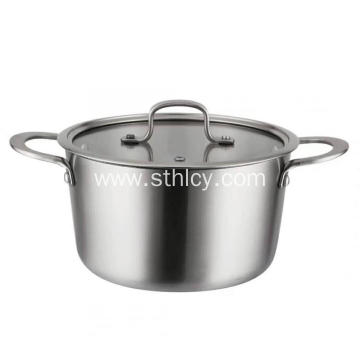 Custom Stainless Steel Stock Pots with Handle