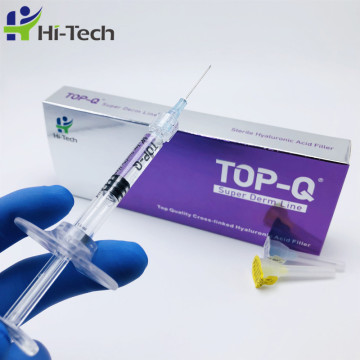 cross linked hyaluronic acid filler for lip