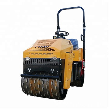 Sheep Foot Hydraulic Double Drum Asphalt Road Roller Compactor FYL-880