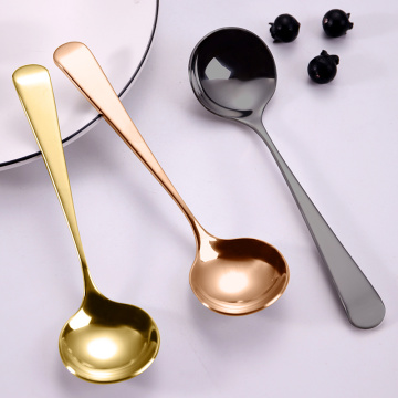 Custom Multi Color Hotel Stainless Steel Korean Spoon