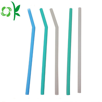 FDA Silicone Streight Straw Soft Straw for Children