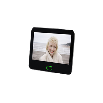 battery powered smart video door viewer camera