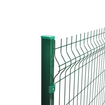 Good Quality Good Looking Colorful Security Welded bending Wire Mesh Fence