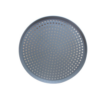 Perforated Pizza Baking Pan For Oven