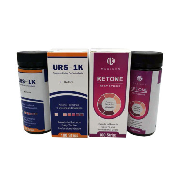 100 pcs ketone urine strips
