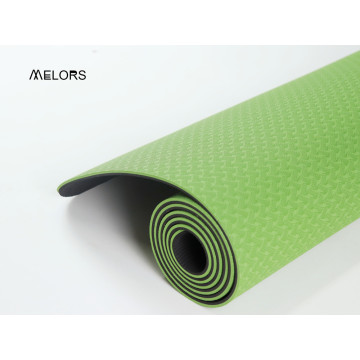 Double Green TPE Yoga Mat