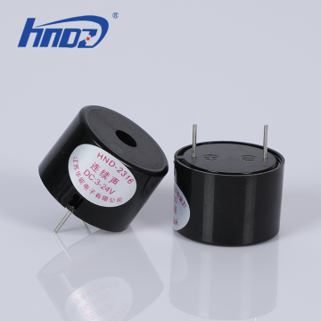 23x19mm Piezoelectric Buzzer 3-24V With Pin