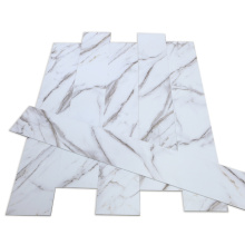 Luxury Waterproof White Marble Grain SPC Flooring