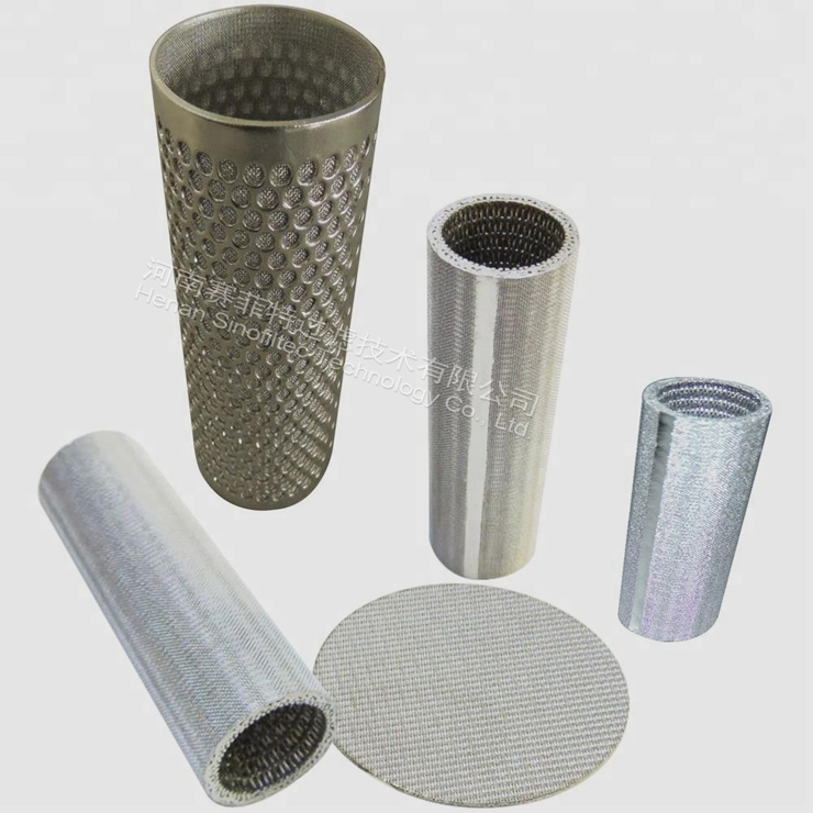 Sintered Wire Mesh Metal Filters