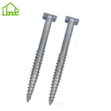 Best quality galvanized ground piles