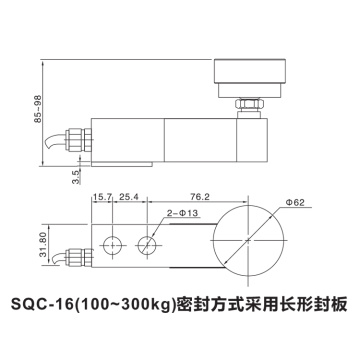 Alloy Steel Shear Beam Pressure Load Cell