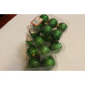 Christmas Glittery Pearlized Plastic Ball
