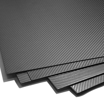 High quality carbon fiber sheet plate 1mm 1.5mm 2.5mm 3mm carbon fiber laminated sheets manufacturers to promotion