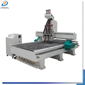3  Tool Changer ATC Furniture Wood Relief CNC Machine