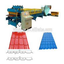 CE certification double layer cold roll forming machine