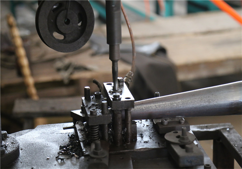 punching krinner ground screw